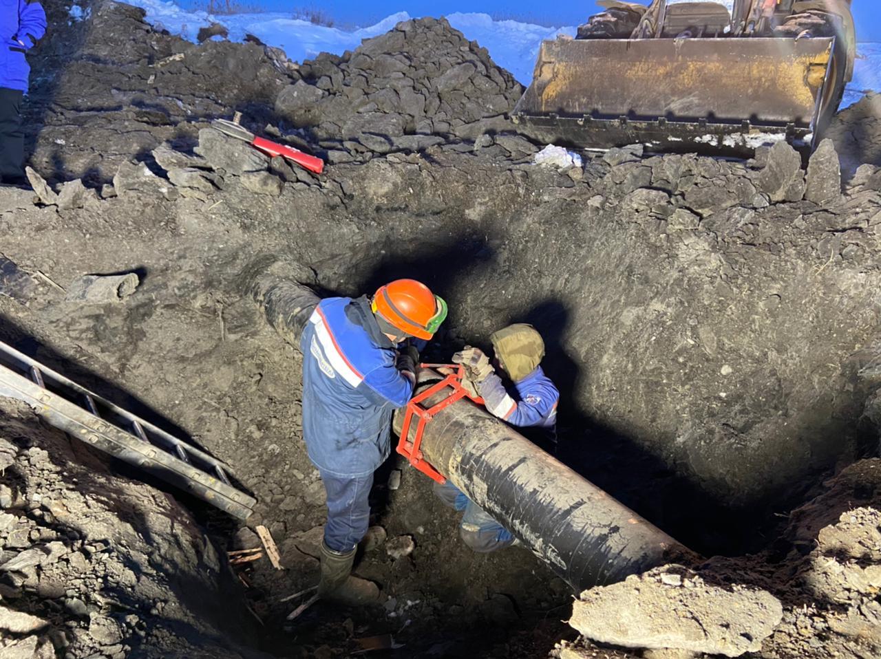 Газоснабжение в районе микрорайона Птицефабрика восстановлено
