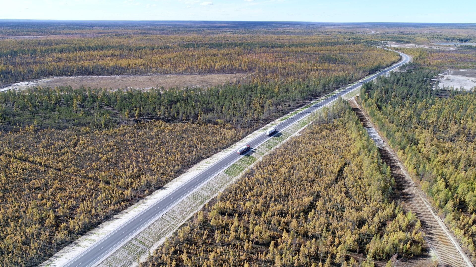 В 2021 году в Якутии приведут к нормативу более 100 км автодорог «Вилюй» и «Колыма»