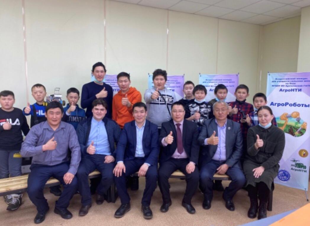 Учащиеся Чурапчинской школы посетили класс АгроНТИ