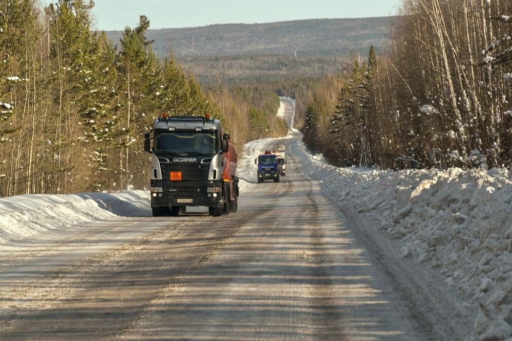 Закрыто движение по грунтовому автозимнику федеральной автомобильной дороги А-331 «Вилюй»