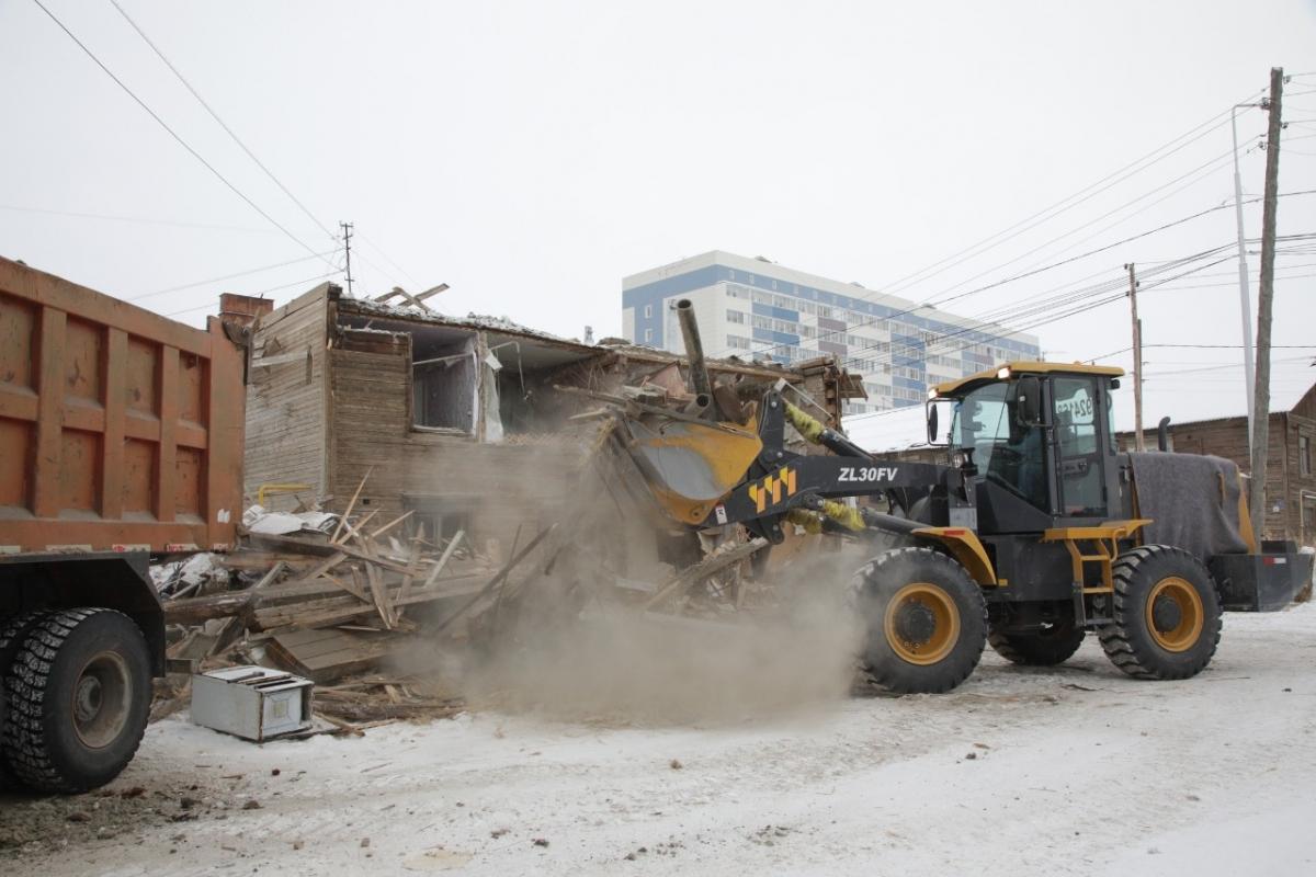 Более 160 ветхих деревянных домов в Якутске признают аварийными за счет муниципального бюджета в 2021 году