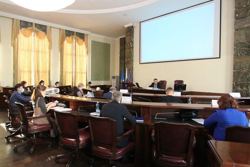 Заседание рабочей группы Гордумы по реализации Послания Главы РС (Я)