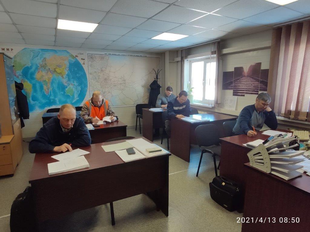 В АО «АК «ЖДЯ» подведены итоги конкурса по охране труда