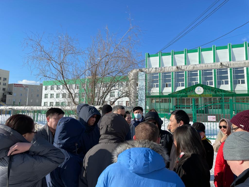 Строительство пристроя к школе № 2 обсудили в Якутске