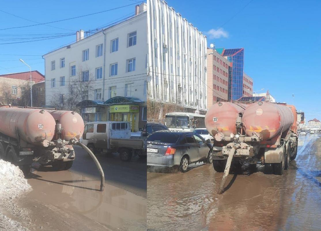 Округа столицы готовы к откачке талых вод