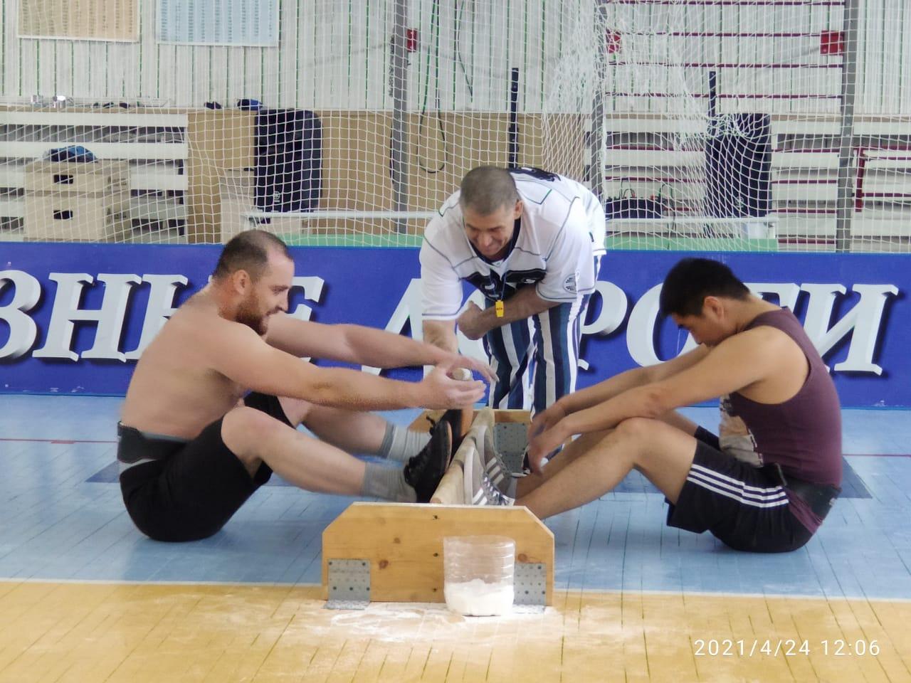 В г. Алдан состоялись соревнования по мас-рестлингу
