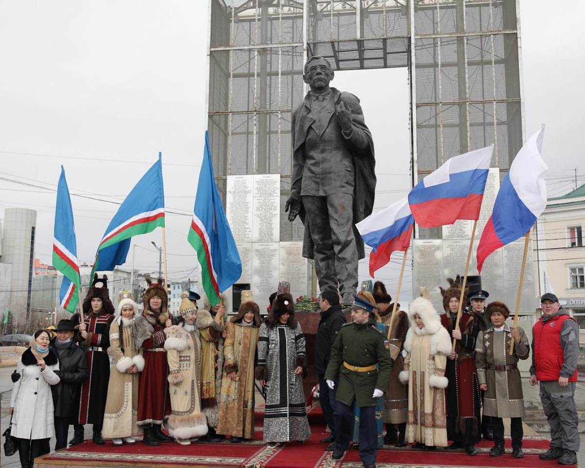 В Якутске отметили День республики