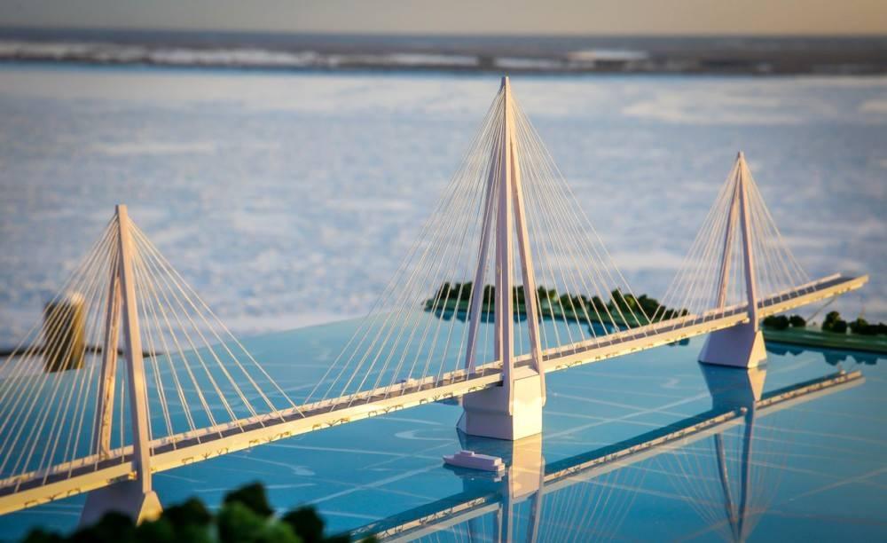 В Якутии одобрили первый этап строительства моста через реку Лену