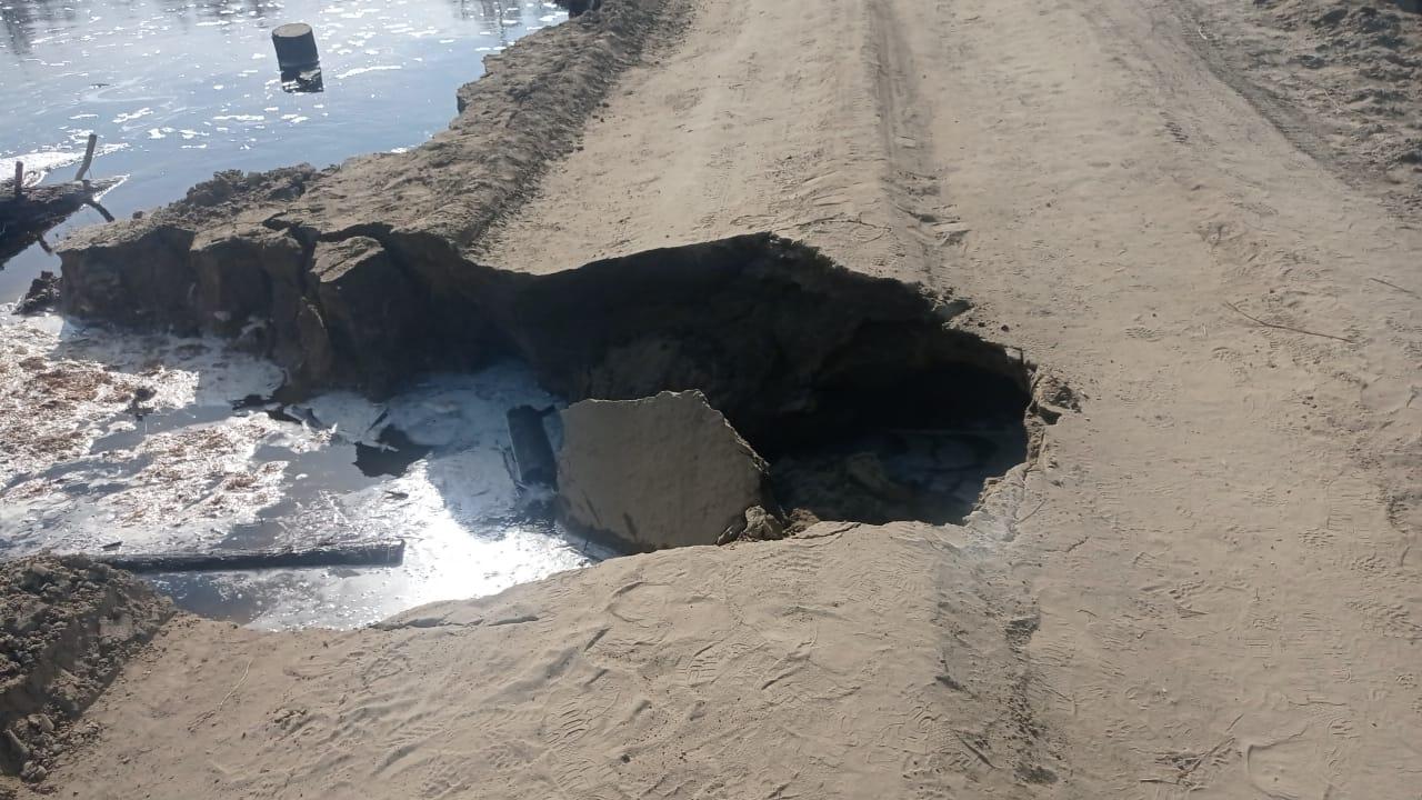 О закрытии проезда для транспортных средств на автодороге «Асыма» – Бясь-Кюель – Кобяй – Сангар