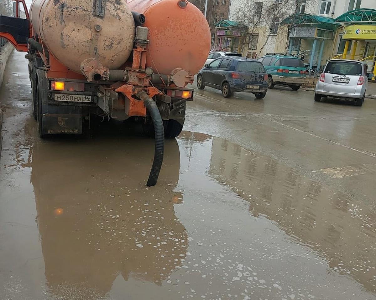 График откачки дождевых и талых вод на 17 мая