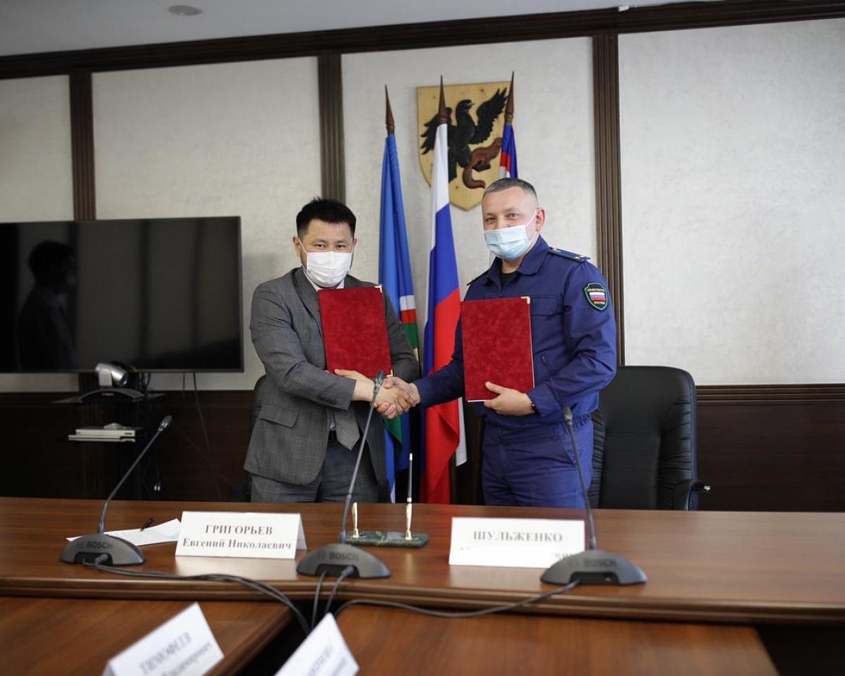 Окружная администрация и прокуратура города Якутска подписали соглашение о взаимодействии