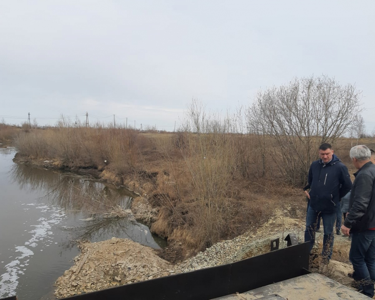 Роман Сорокин проконтролировал состояние гидротехнических сооружений