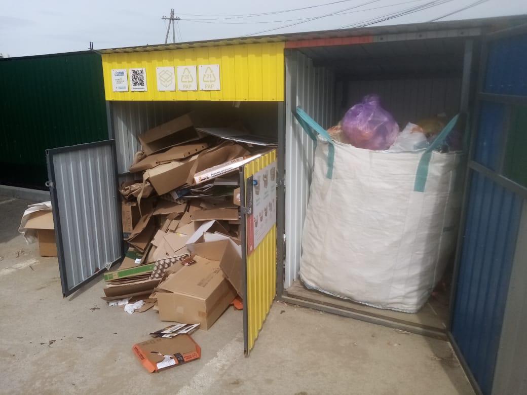 Как организуют раздельный сбор мусора в Якутске