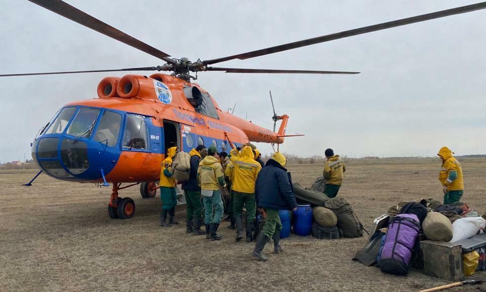 В Якутии локализовали три природных пожара