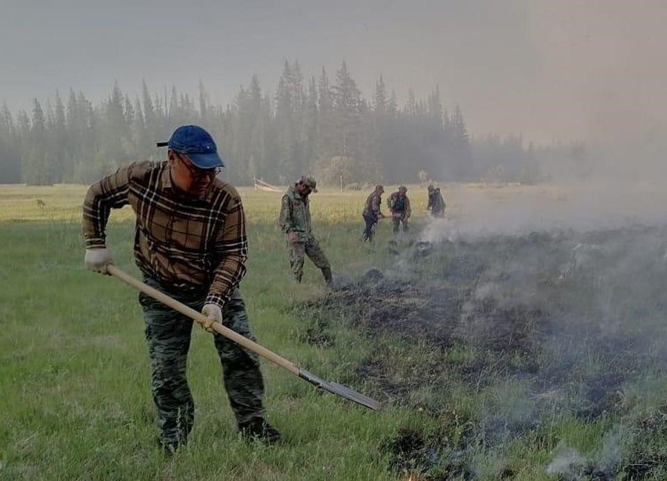 Перед главами районов поставлена задача по мобилизации населения для тушения лесных пожаров