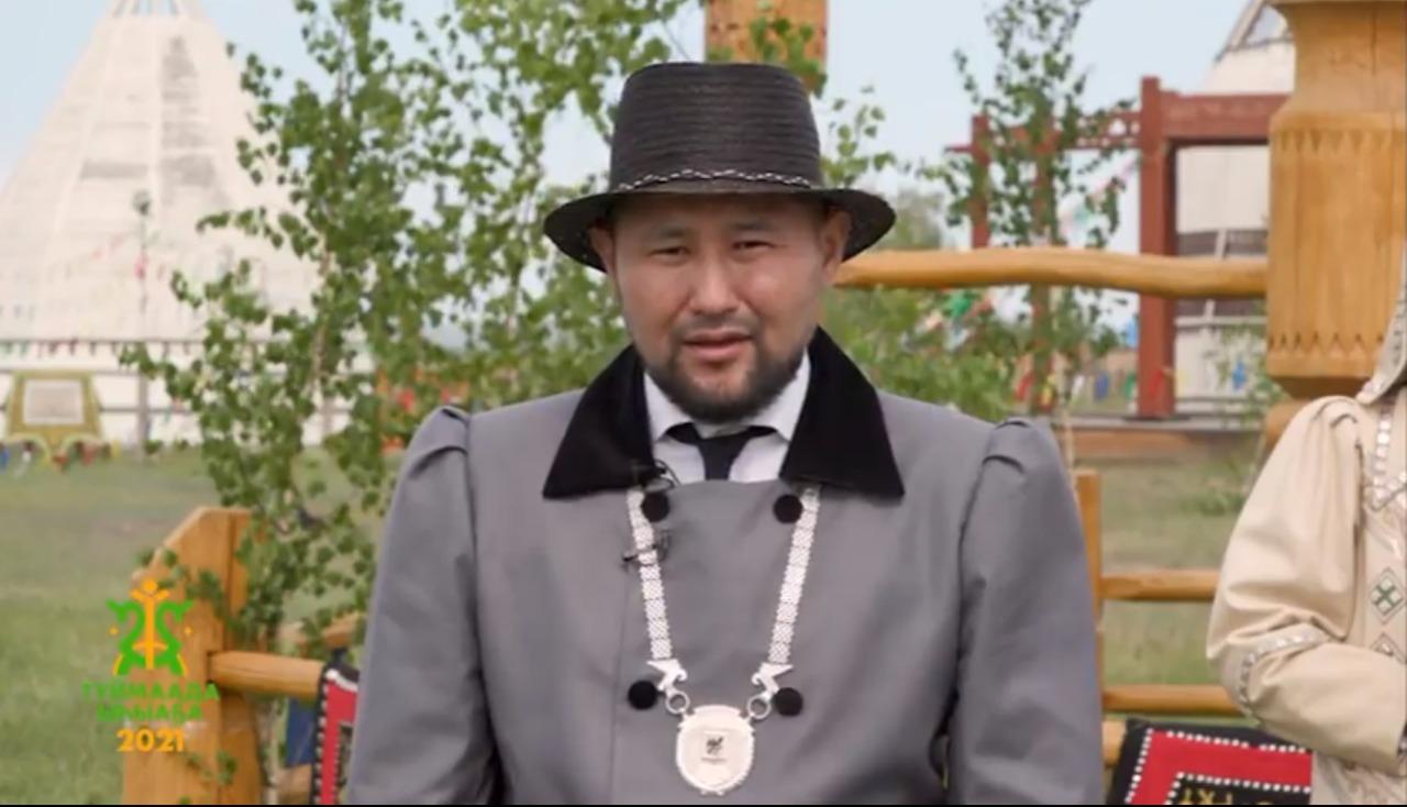 Евгений Григорьев поздравляет с национальным праздником Ысыах