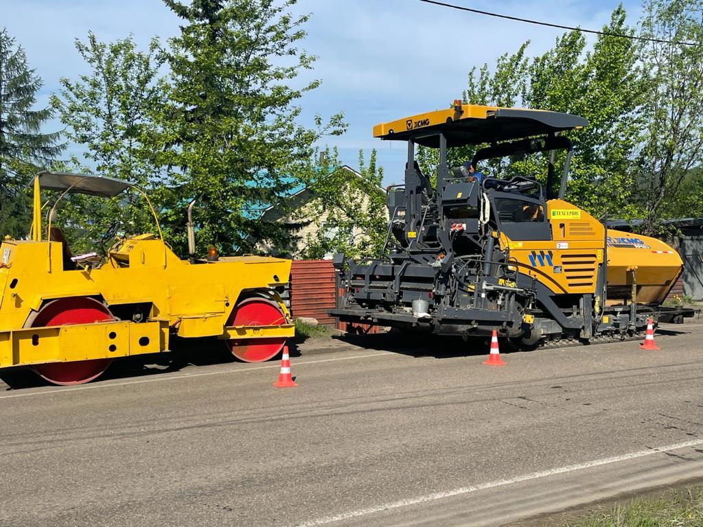 Ассоциация строителей АЯМ: Асфальтирование дорог