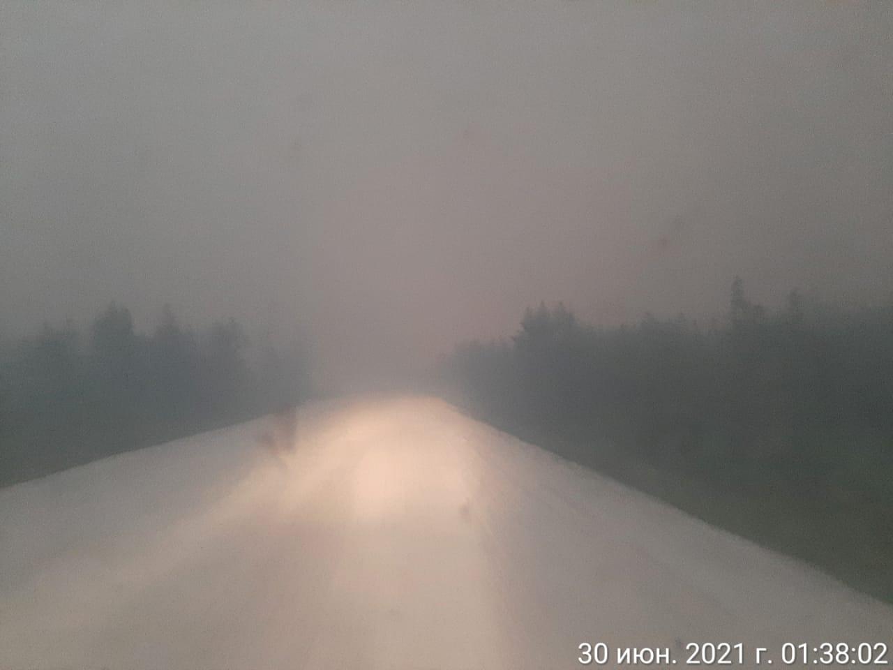 Временно закрыто движение на участке трассы Р-504 «Колыма» в Якутии