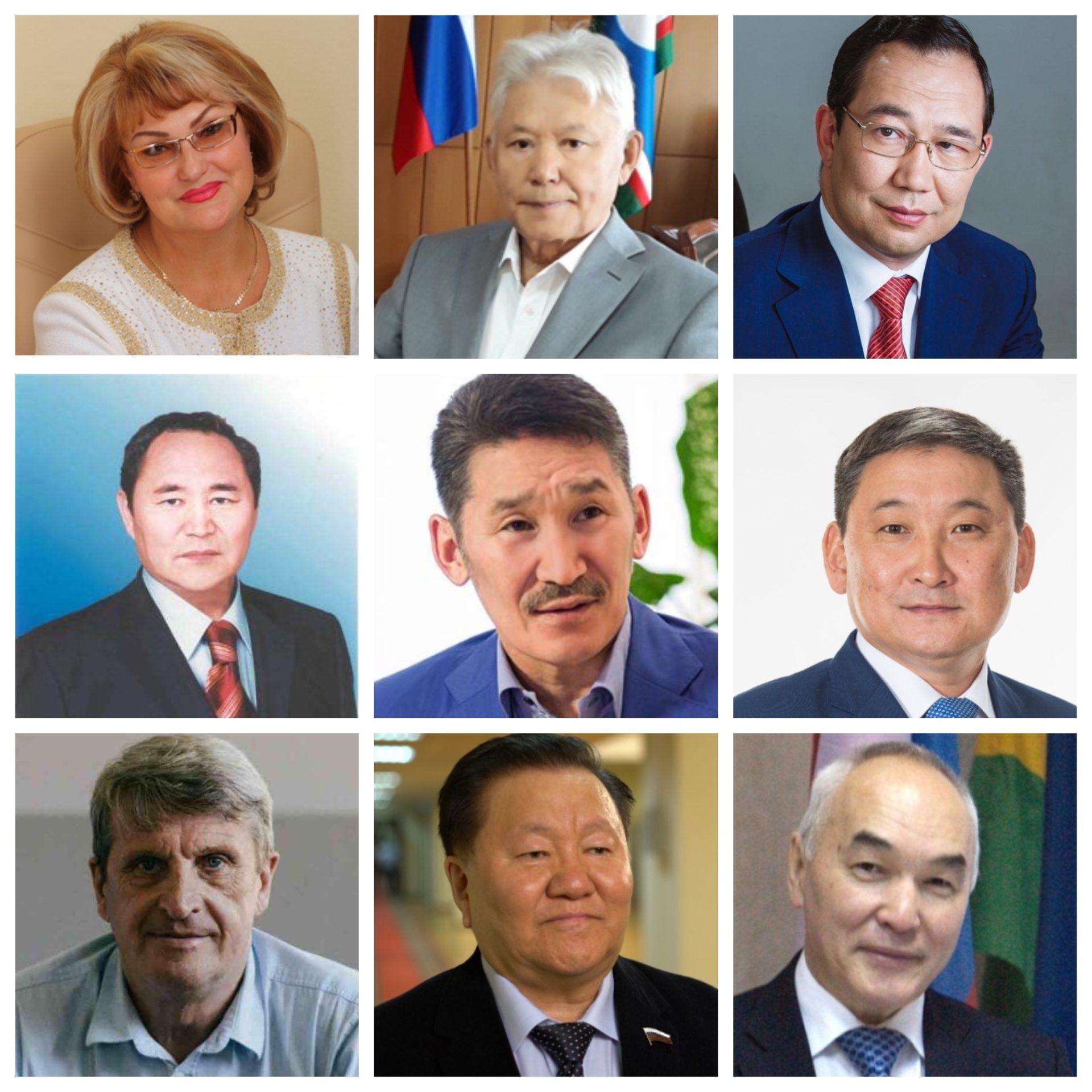 Эрнст БЕРЕЗКИН и девять портретов якутских политиков