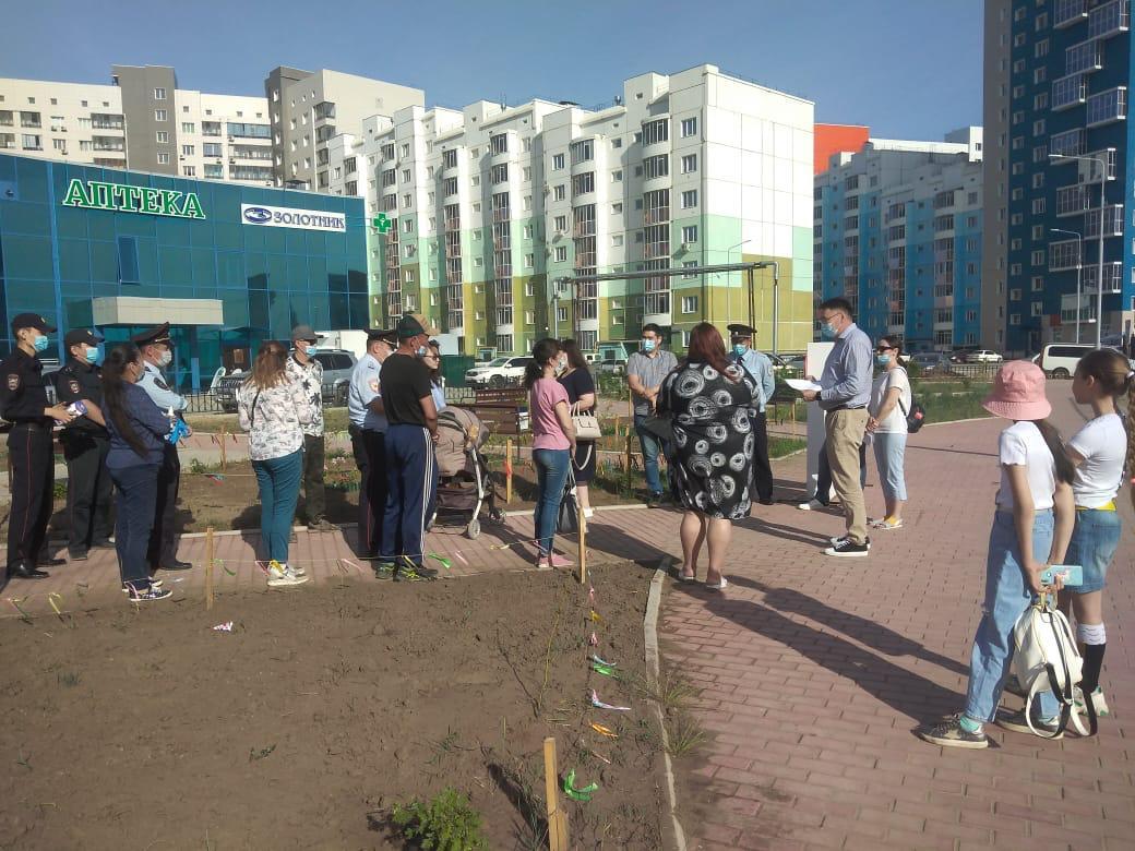 В Якутске прошел Единый информационный день на тему «Благоустройство в городе»