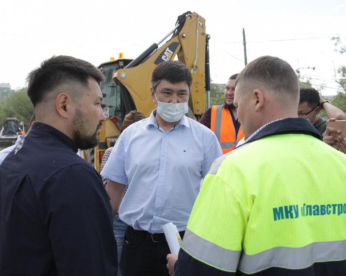 Евгений Григорьев провел объезд по объектам «Безопасные качественные дороги»