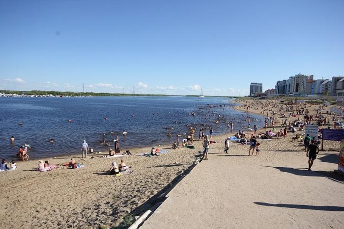 Городской пляж откроется в случае смягчения ограничительных мер