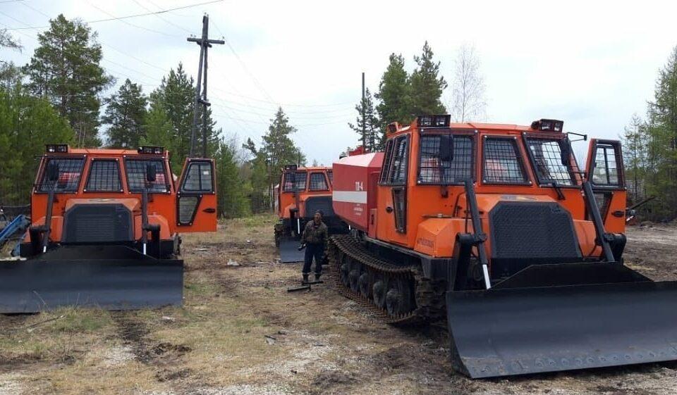 Регионы до конца года получат 520 единиц лесопожарной техники