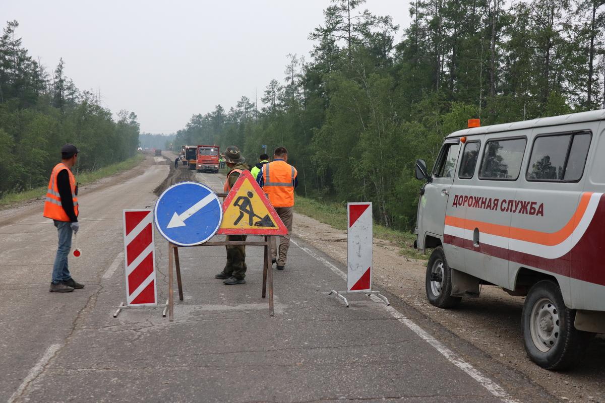 По нацпроекту «БКД»  планируют закатать в асфальт 20,9 км автодороги «Умнас»