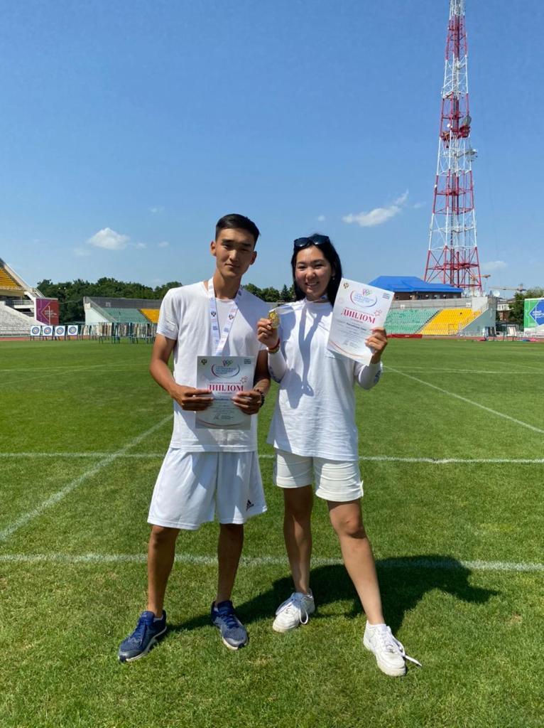 Команда из Якутии по стрельбе из лука стала золотым призером Спартакиады молодежи России