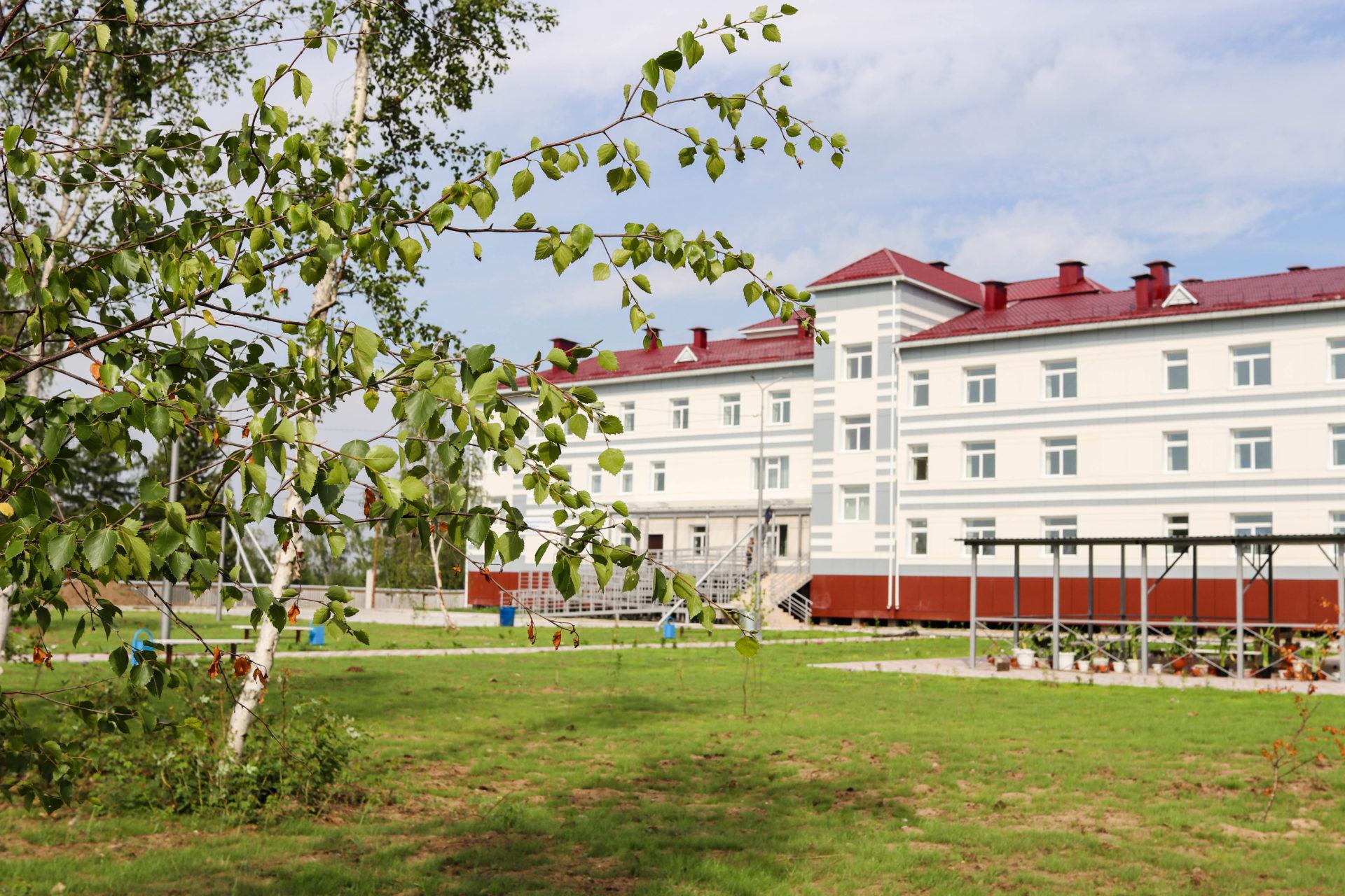 В Якутии вводится спальный корпус Вилюйского психоневрологического дома-интерната