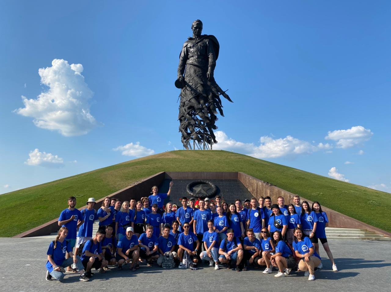 Студенты АГАТУ участвуют в военно-патриотическом лагере подо Ржевом
