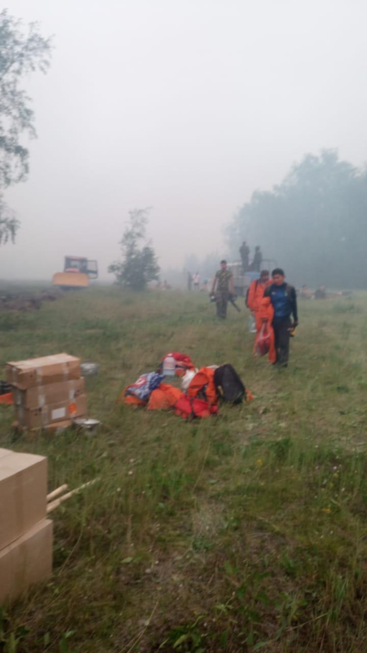 В пригороде Якутска ликвидирован лесной пожар площадью 5 гектаров