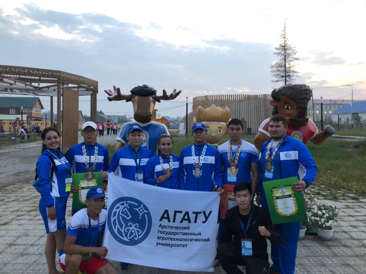 Сборная команда АГАТУ впервые на Играх Манчаары