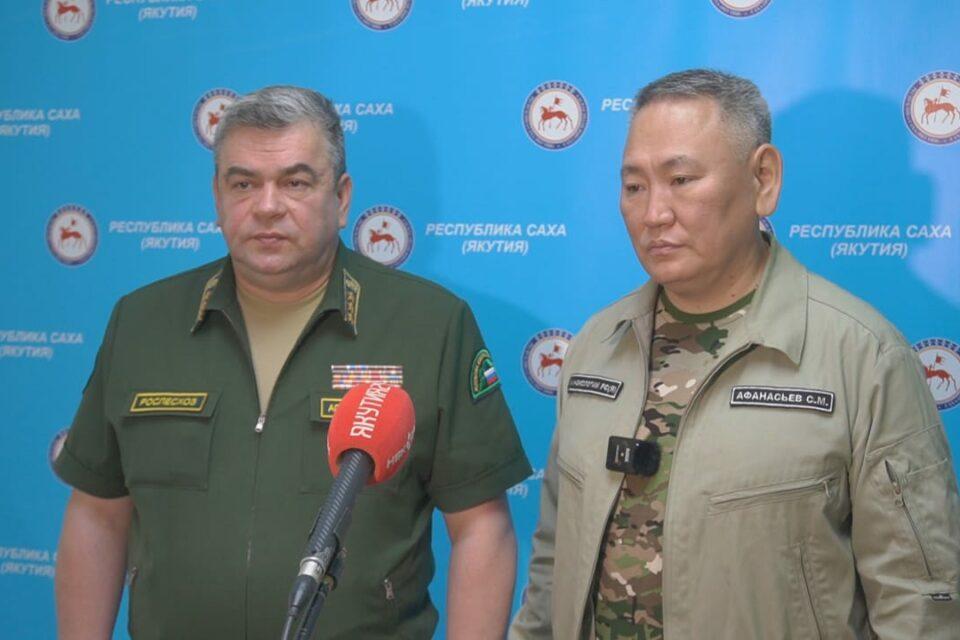 В Якутии принят ряд дополнительных мероприятий по тушению лесных пожаров