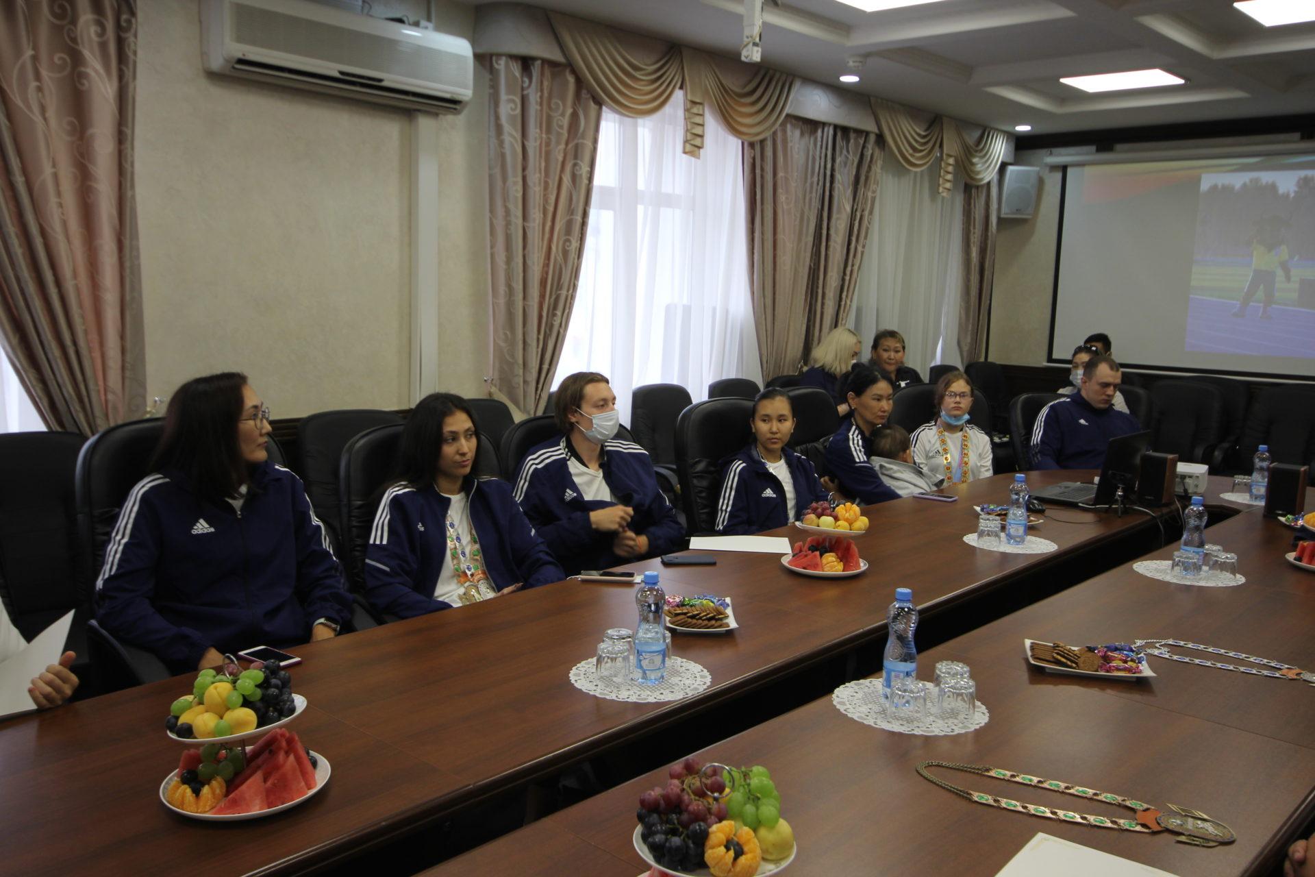 В Якутске чествовали спортсменов «Игр Манчаары»