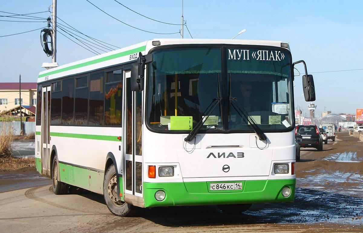 В Якутске продолжаются проверки санитарного состояния общественного транспорта