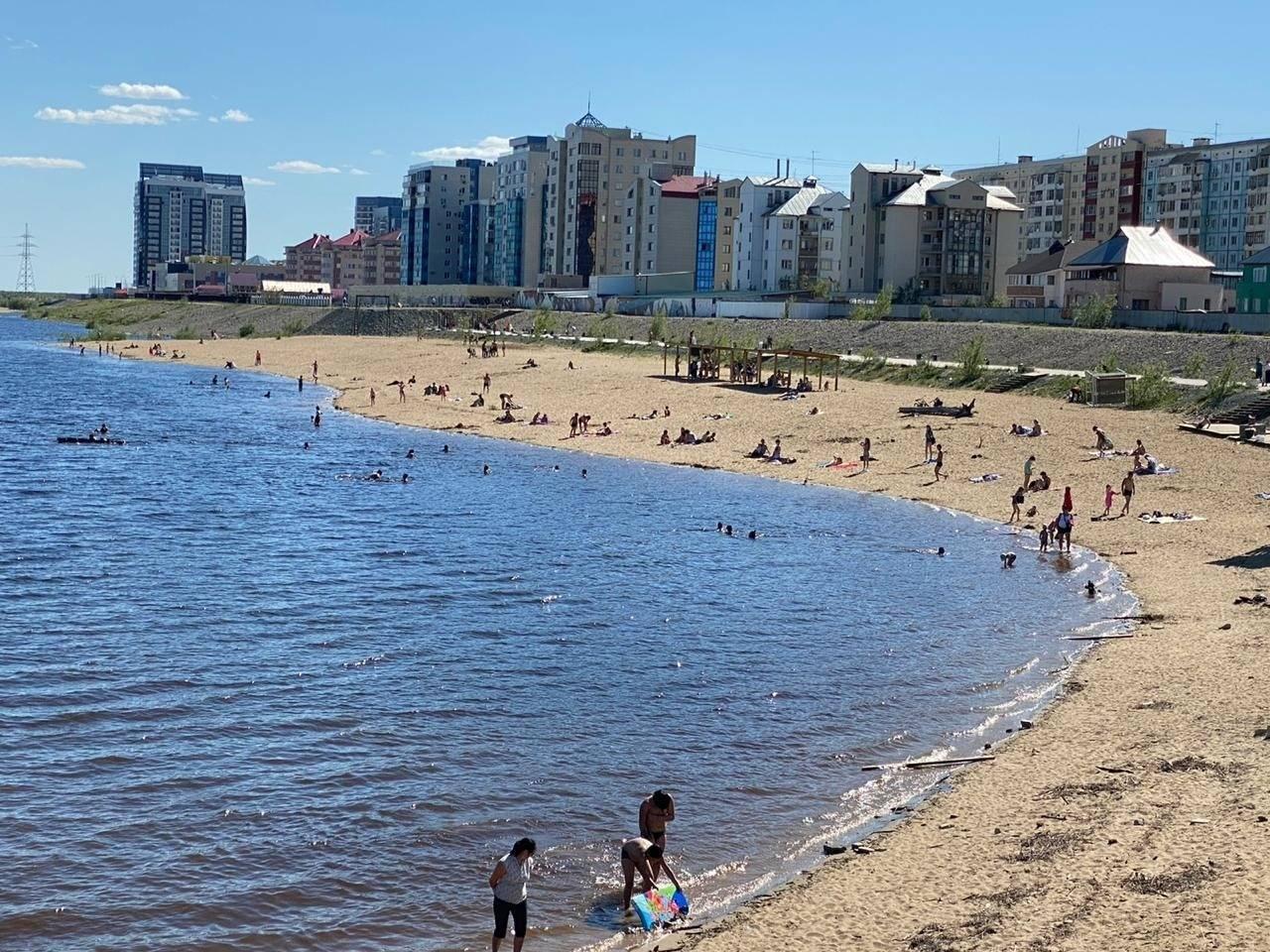 Со 2 июля официально откроется городской пляж