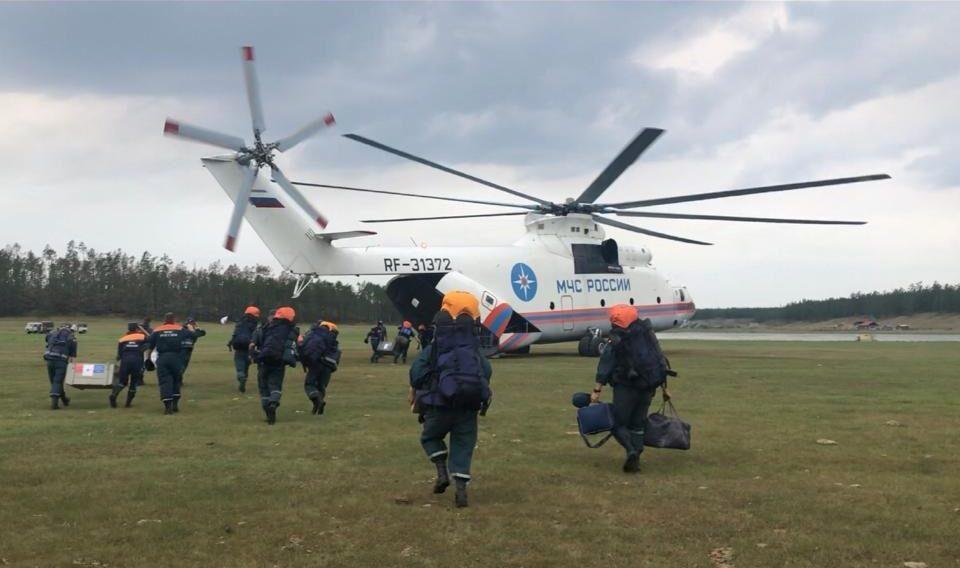 Из Якутии начнут поэтапно выводить силы в связи со стабилизацией лесопожарной обстановки