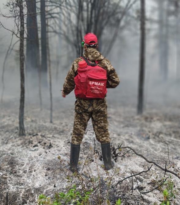 Студенты АГАТУ участвуют в тушении лесных пожаров