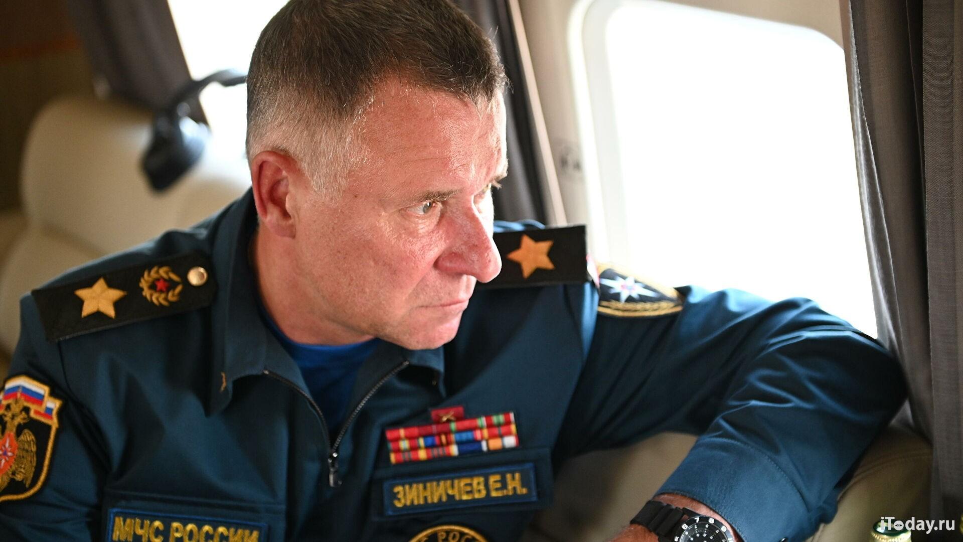 Глава МЧС России прибыл в Якутск
