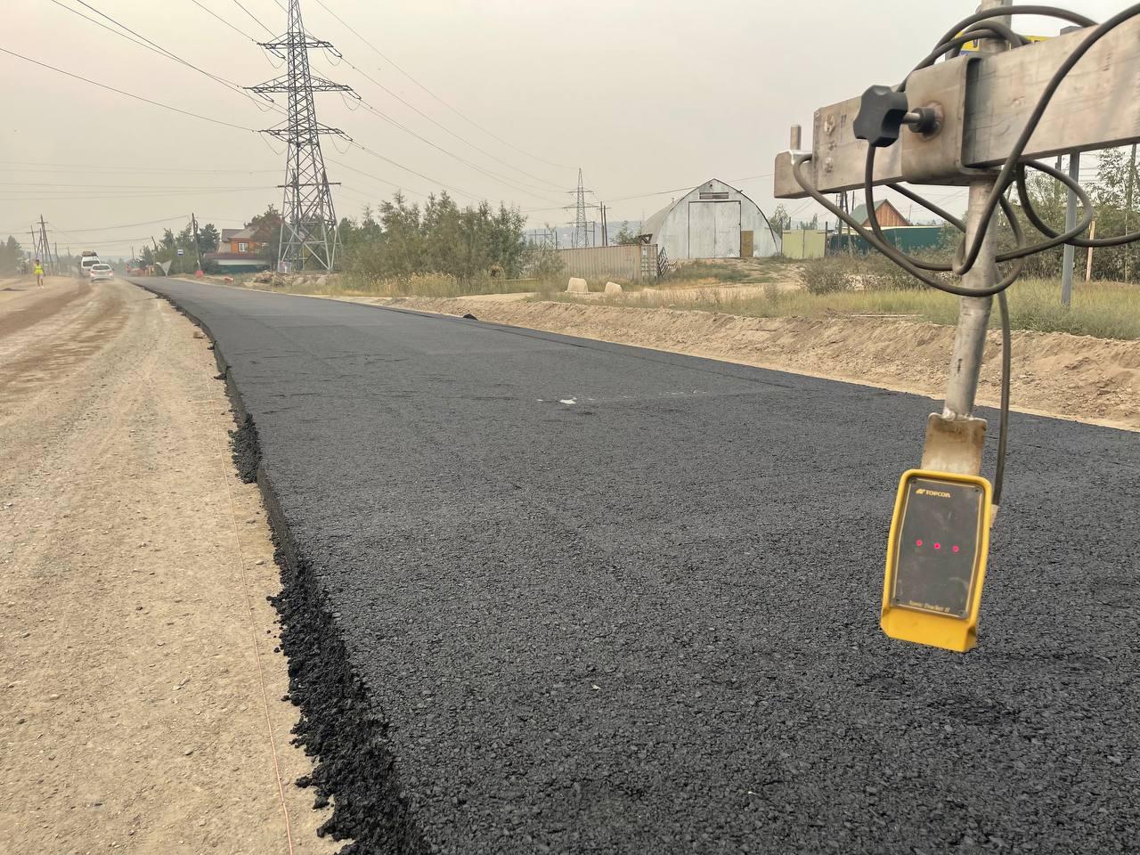 В Якутске асфальтировано 54 процента дорог в рамках реализации НП «Безопасные качественные дороги»