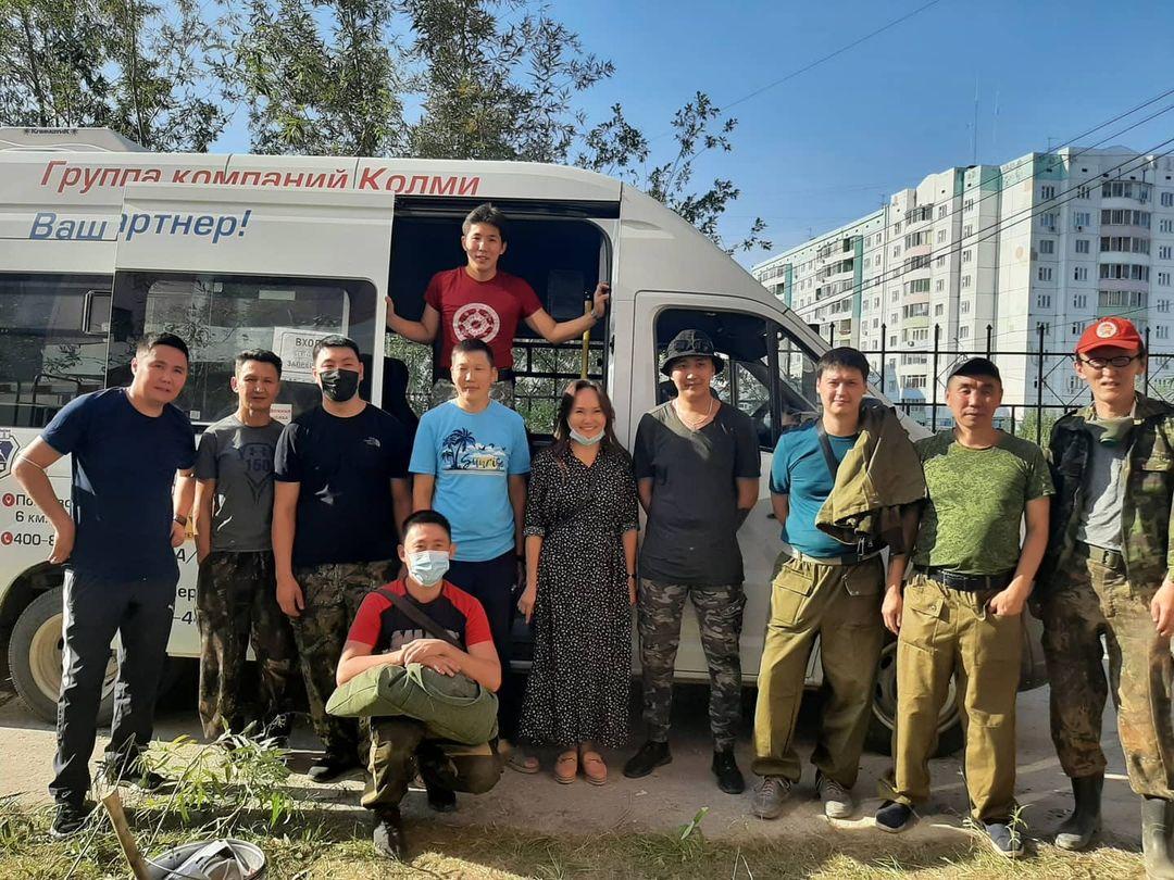 Наталья Румянцева оказывает финансовую и материальную поддержку в борьбе с лесными пожарами в Якутии