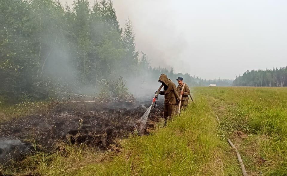 За сутки в Якутии ликвидировали 14 природных пожаров