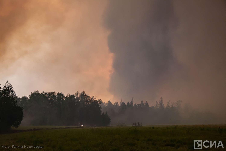Введен режим ЧС регионального характера в связи с переходом лесных пожаров на территории населенных пунктов