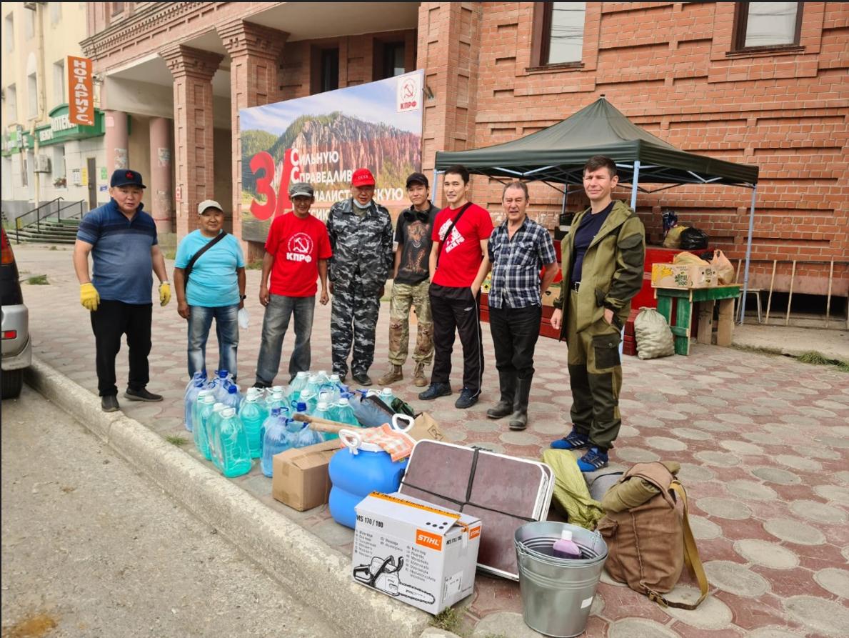 Вячеслав Макаров: Коммунисты, комсомольцы, народные депутаты самоотверженно участвуют в тушениях пожаров на своей земле