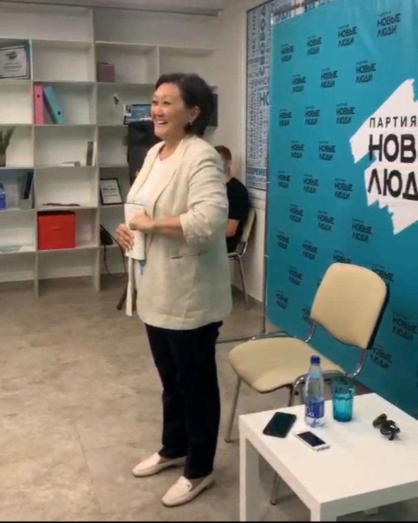 Сардана АВКСЕНТЬЕВА в Челябинске: «Что с вами не так, ребята?»