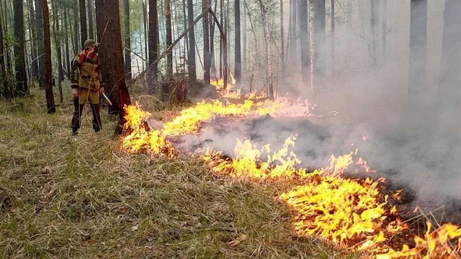В ряде районов Якутии сохраняется высокий класс пожароопасности