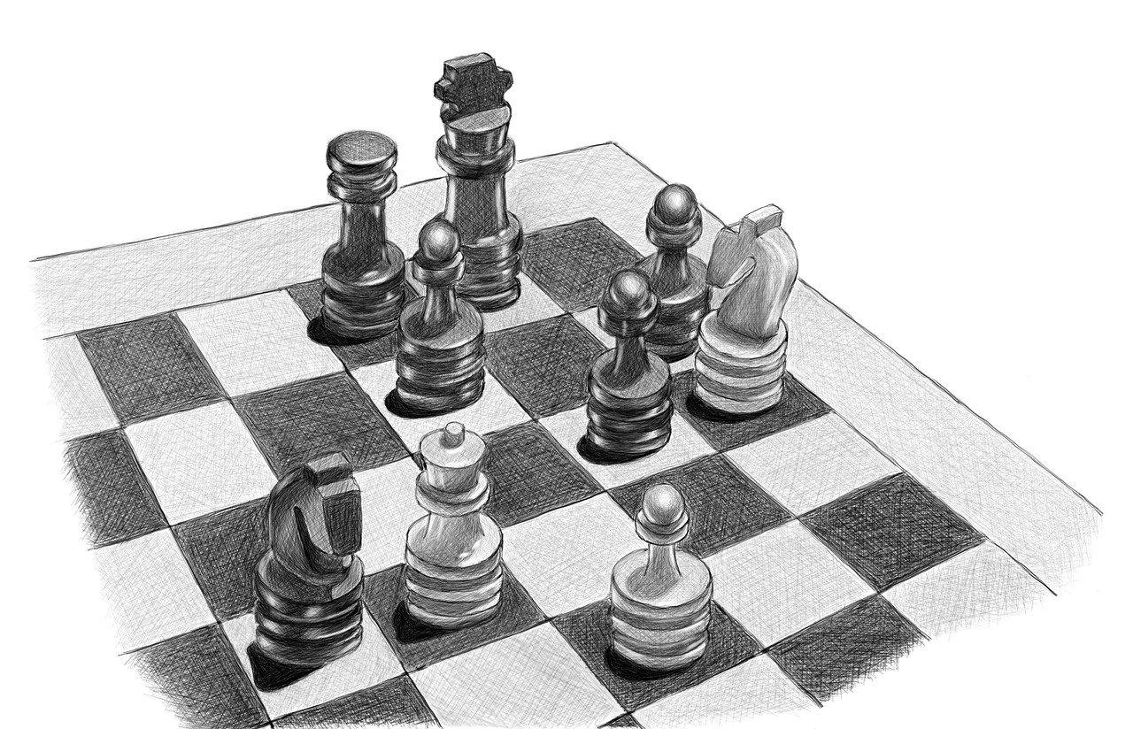 Шахматная доска — выборы в Госдуму