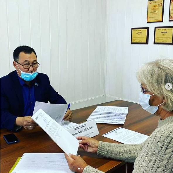 Андрей Находкин провел личный прием граждан
