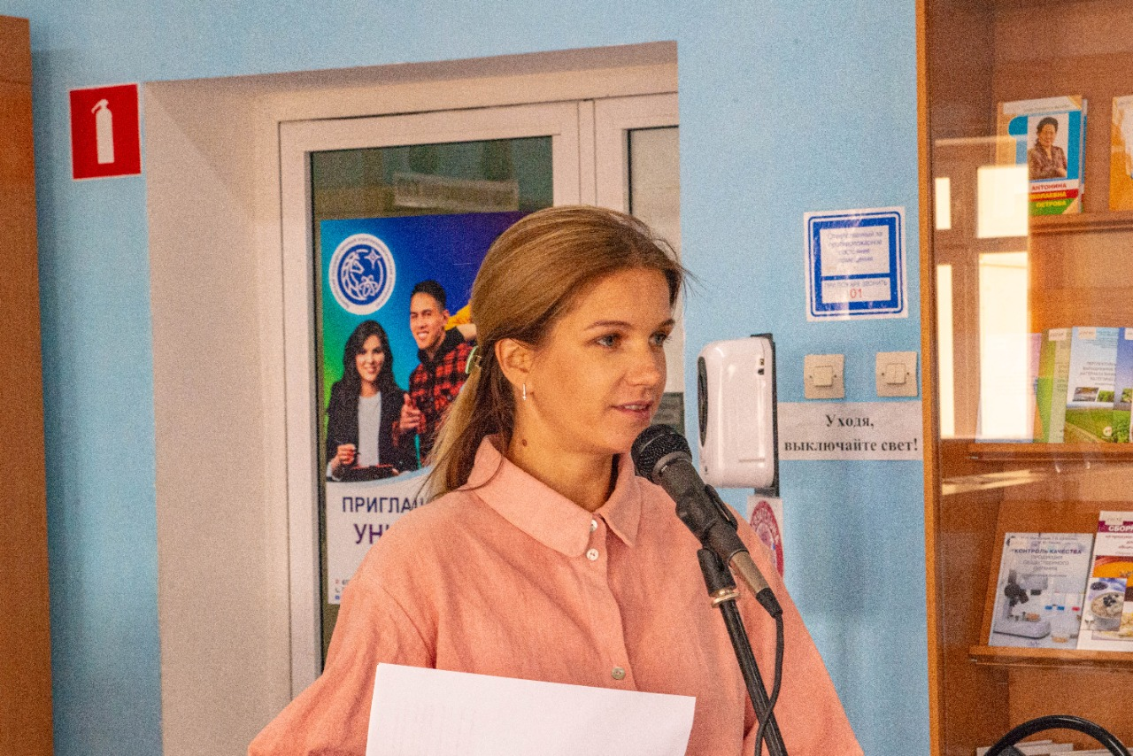 Студенты АГАТУ встретились с Молодежной Ассамблеей народов Якутии